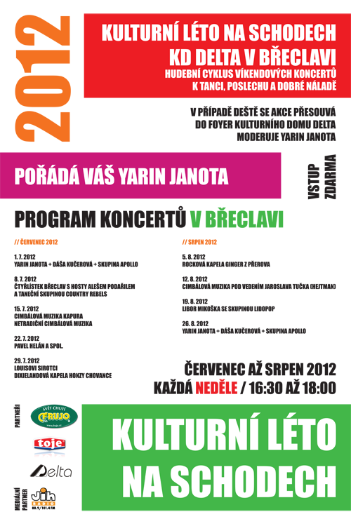 Kulturn lto na schodech 2012 v Beclavi